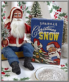link to vintage 1930's Sparkle Christmas Snow mica