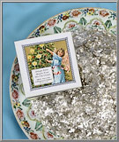 link to Antique Silver metallic mica flakes