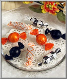 Old-Time Halloween Candies glass ornament assortment