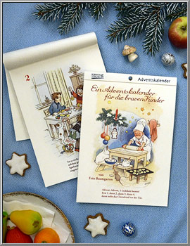 Advent Calendar Booklet 'For Good Children'